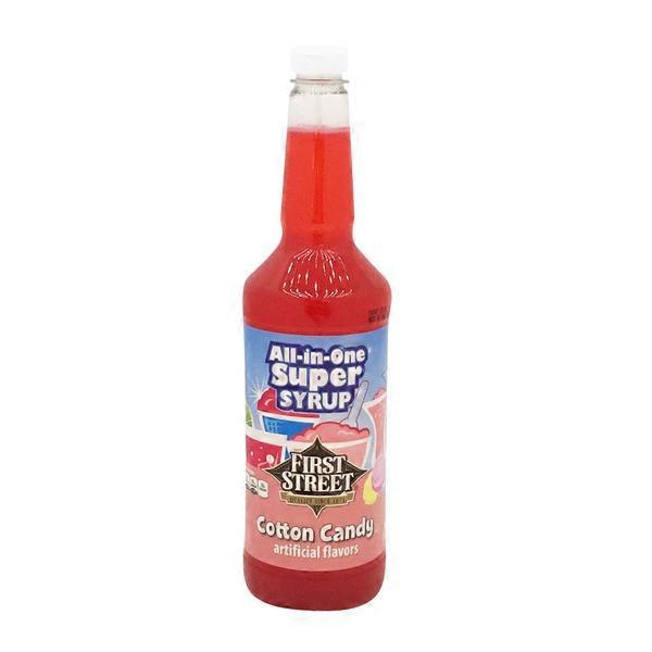 First Street Cotton Candy Syrup 32 Oz From Smart Final Instacart