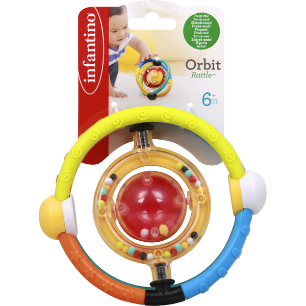 Item # Orbit Infant Discovery Ball and Rattle