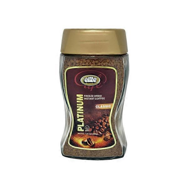 Elite Platinum Freeze Dried Instant Coffee (7 05 oz) from