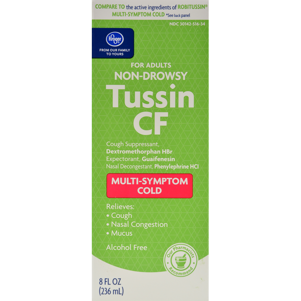 Tussin Cf Or Dm Topcare Tussin Dm Cough And Chest Congestion From