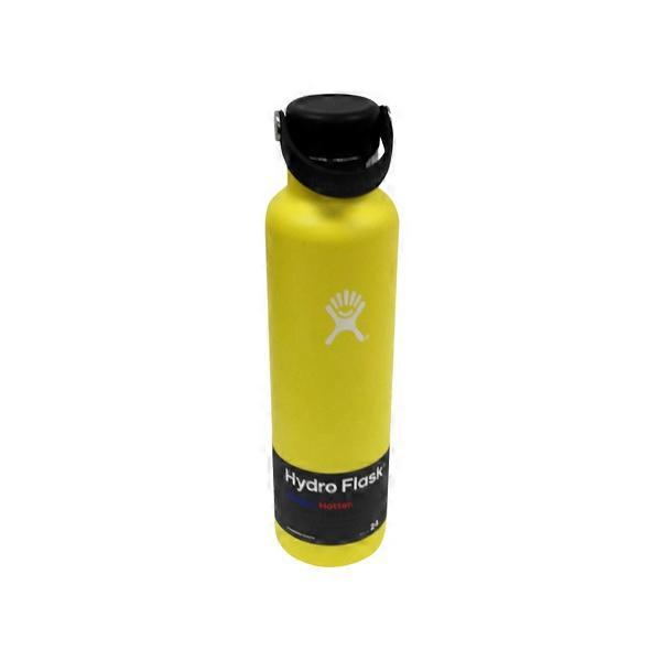 Hydro Flask 24 oz Lemon Standard Mouth Vacuum Insulated