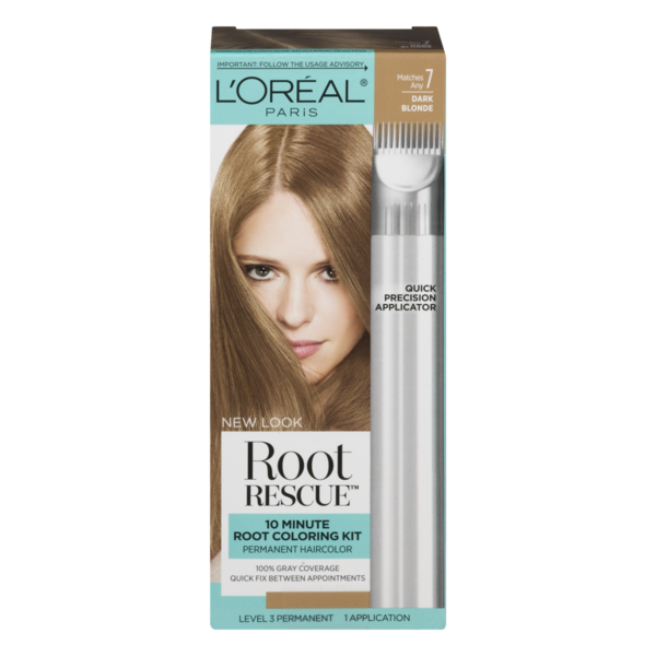 L Oreal Paris Root Rescue Permanent Hair Color 7 Dark Blonde 1 Ct