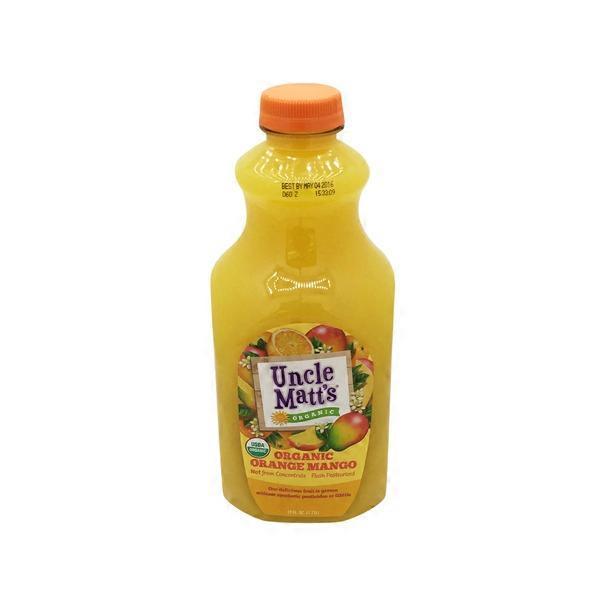 Uncle Matt S Organic Organic Orange Mango Juice 59 Fl Oz