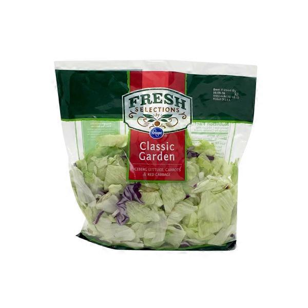 Kroger Fresh Selections Classic Garden Salad Each From