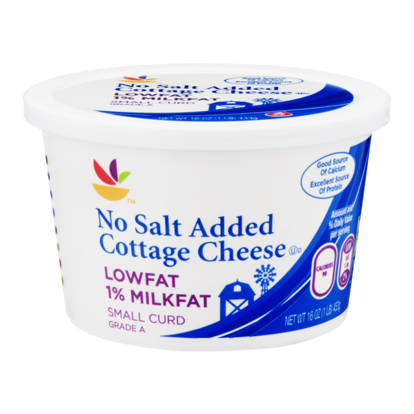 Magnificent Sb Cottage Cheese Small Curd Lowfat No Salt Added 16 Oz Home Remodeling Inspirations Cosmcuboardxyz