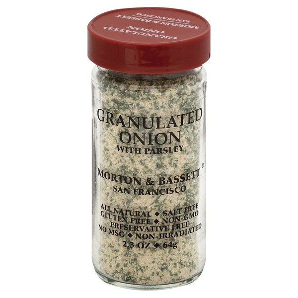 Morton & Bassett Spices Onion, Granulated, with Parsley