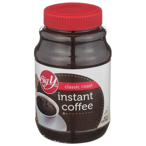 Big Y Coffee Instant Classic Roast 12 Oz Instacart