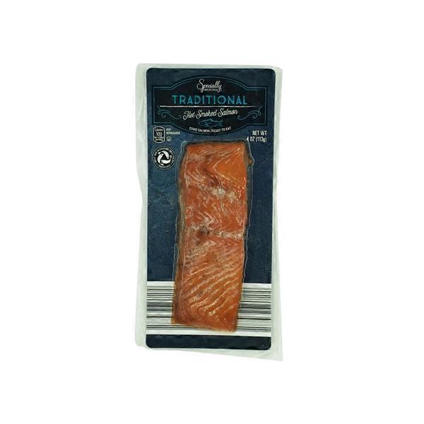 Specially Selected Traditional Hot Smoked Salmon (4 oz) from ALDI