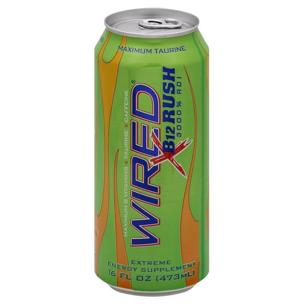 Wired Energy Drink, B12 Rush from Safeway - Instacart