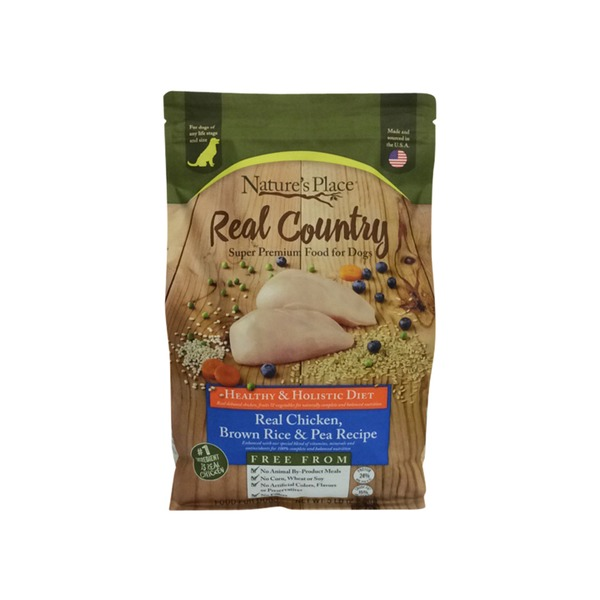 Natures place real country chicken brown rice dog food 5 lb from natures place real country chicken brown rice dog food forumfinder Images