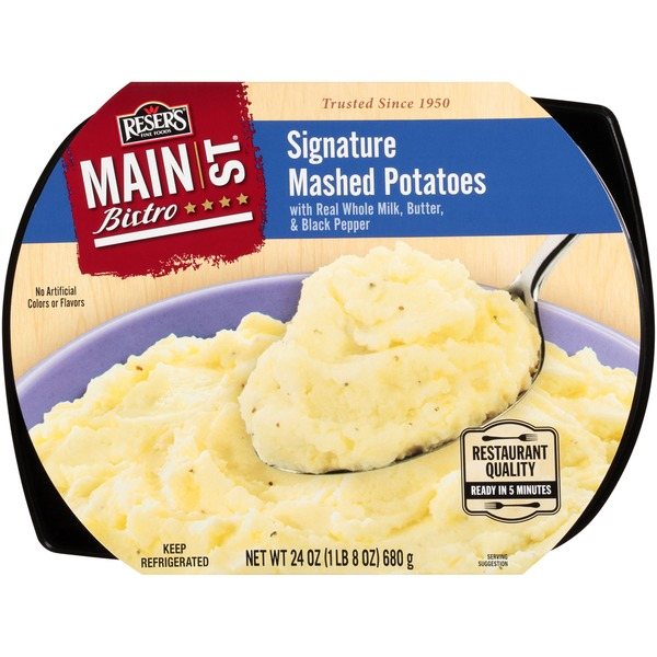 Reser S Main St Bistro Signature Mashed Potatoes 24 Oz