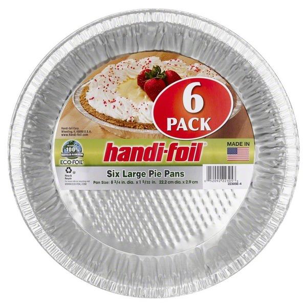 Handi-Foil Pie Pans Large  sc 1 st  Instacart & Handi-Foil Pie Pans Large (6 ct) from Fred Meyer - Instacart