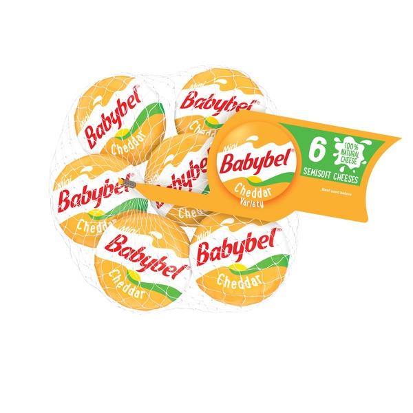 Mini Babybel Cheddar Variety Semisoft Cheese