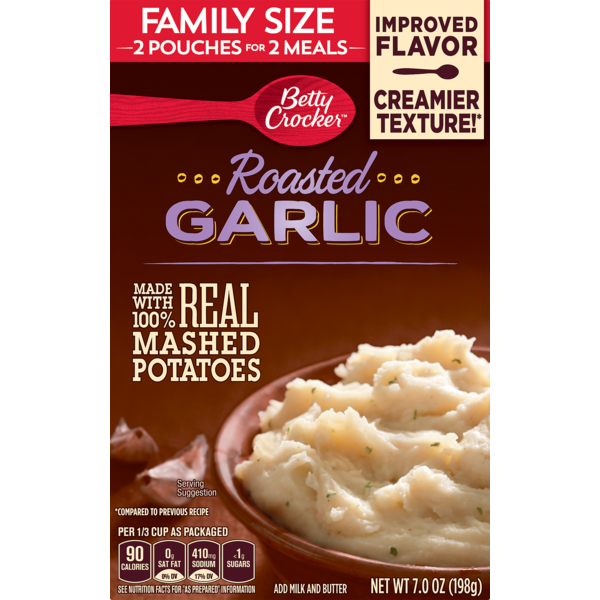 Betty Crocker Bc Garlic Potatoes From Lowes Foods Instacart