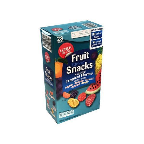 Lunch Buddies Tropical Fruit Snack (25 2 oz) from ALDI - Instacart