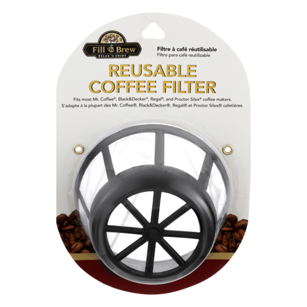 Fill N Brew Reusable Coffee Filter 1 Ct From Smart Final