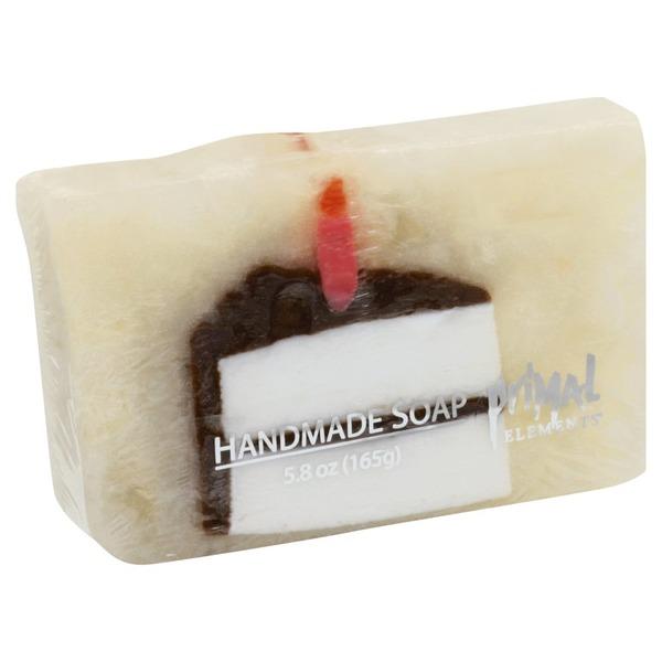 Terrific Primal Elements Soap Handmade Birthday Cake 5 8 Oz From Jewel Personalised Birthday Cards Sponlily Jamesorg