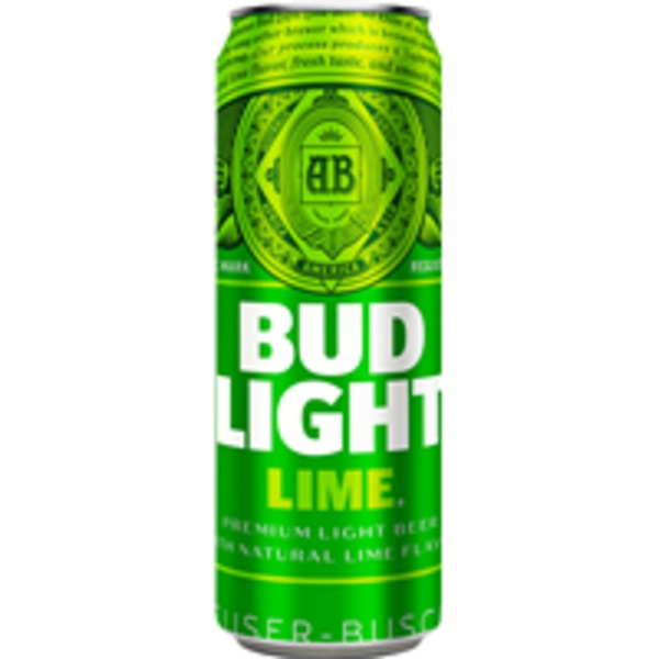 Budweiser Lime Bud Light (25 fl oz) from Binny's Beverage