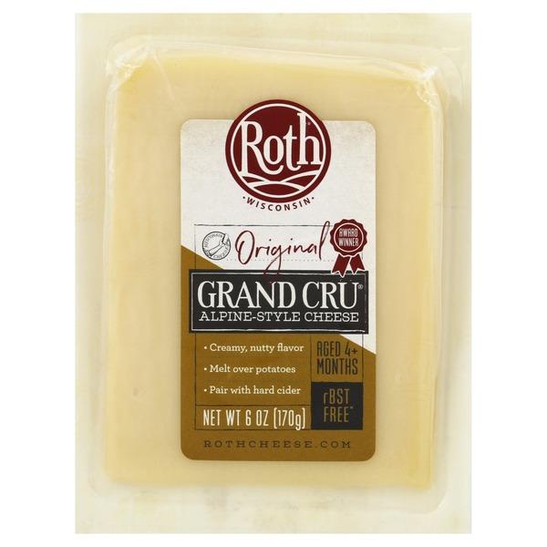 Roth Cheese, Alpine-Style, Grand Cru, Original