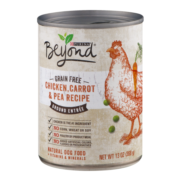Beyond dog wet grain free chicken carrot pea recipe ground entree beyond dog wet grain free chicken carrot pea recipe ground entree dog food forumfinder Images