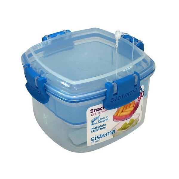 Sistema 400ml Snack To Go Food Storage Container