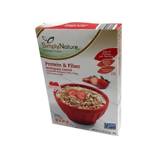 Simply Nature Protein & Fiber Original Cereal (13.1 Oz