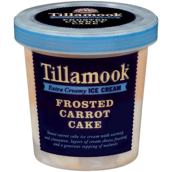 Tillamook Special Batch Frosted Carrot Cake Ice Cream From Sprouts Farmers Market