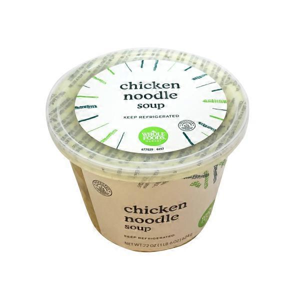 Whole Foods Market Chicken Noodle Soup 22 Oz From Whole Foods