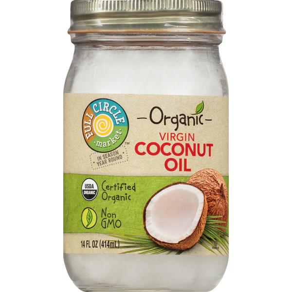 Full Circle Coconut Oil, Virgin