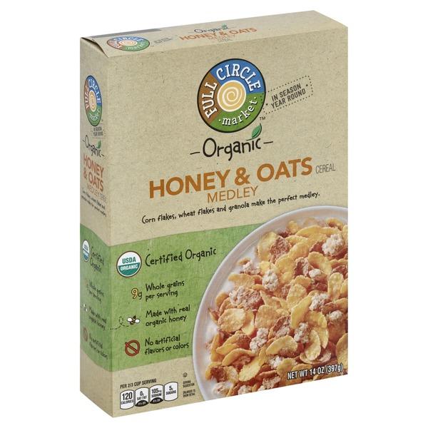Full circle market organic honey oats medley cereal from price full circle market organic honey oats medley cereal ccuart Choice Image