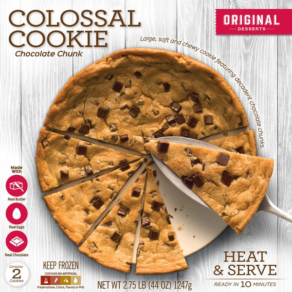 Steven Robert Original Colossal Chocolate Chip Cookie (2 ct