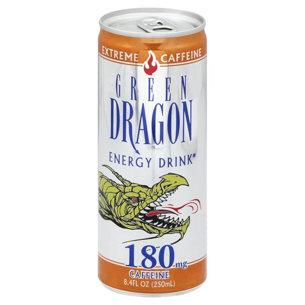 Green Dragon Energy Drink, Extreme Caffeine (8 4 oz) from