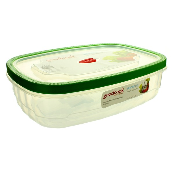 Good Cook 1 Gallon Rectangular Food Storage Container With Vented Lid  sc 1 st  Instacart & Good Cook 1 Gallon Rectangular Food Storage Container With Vented ...