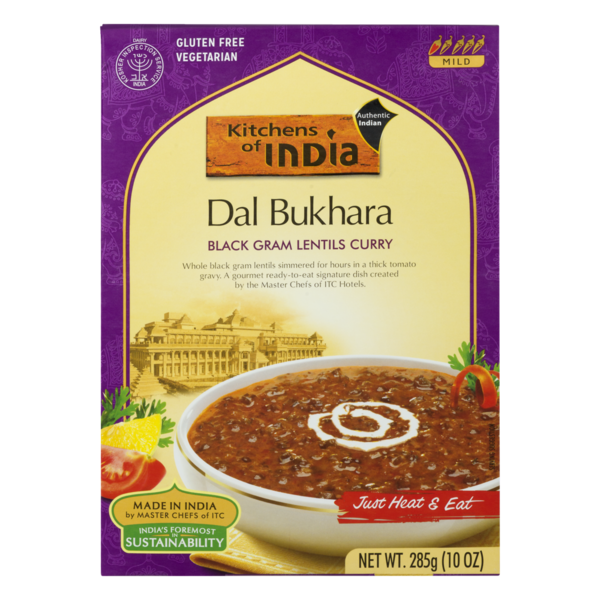 Kitchens of India Dal Bukhara (10 oz) from Ralphs - Instacart