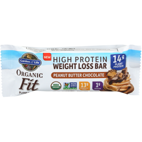 garden of life weight loss. Garden Of Life Weight Loss Bar, High Protein, Peanut Butter Chocolate X