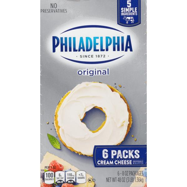 Kraft Philadelphia Cream Cheese Original (8 oz) from Sam's Club