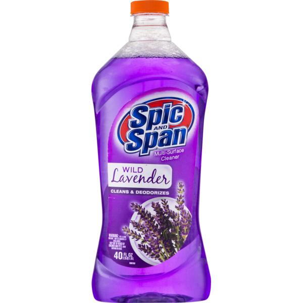 Spic Span Multi Surface Cleaner Wild Lavender 40 Fl Oz Instacart