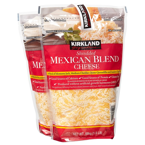 Image result for costco mexican shredded cheese