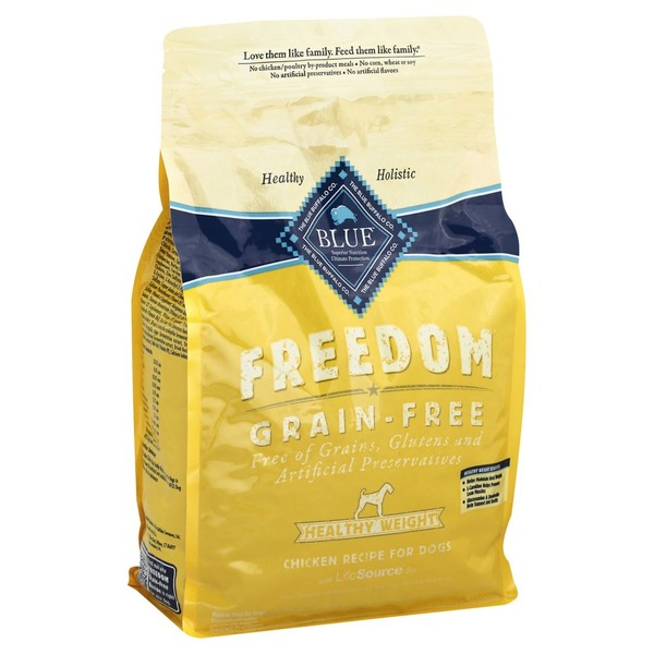 Blue Buffalo Food For Dogs Natural Grain Free Healthy Weight Chicken