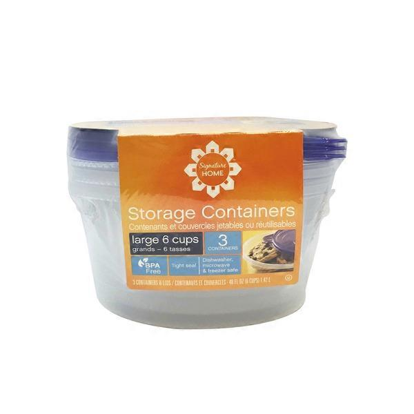 Signature Farms Storage Containers Large Bowl from Safeway