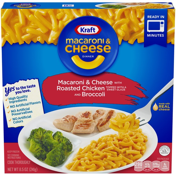 Kraft Macaroni Cheese With Roasted Chicken And Broccoli Kraft