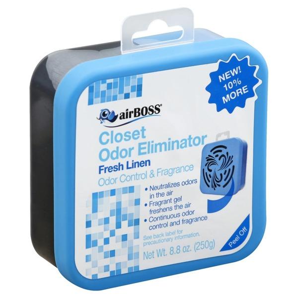 Air Boss Odor Eliminator, Closet, Fresh Linen (8 8 oz) from Publix