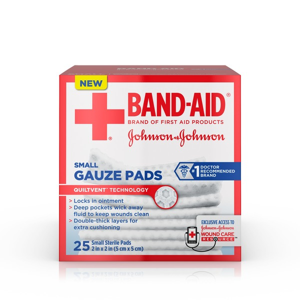 Johnson Small Gauze Pads 2 Inches By