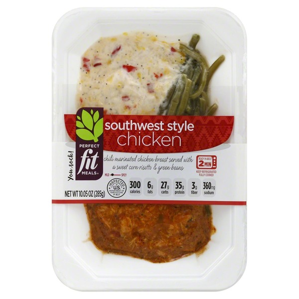Perfect Fit Meals Chicken, Southwest Style (10 05 oz) from