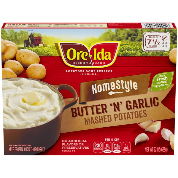 Ore Ida Homestyle Butter N Garlic Ore Ida Homestyle Butter N