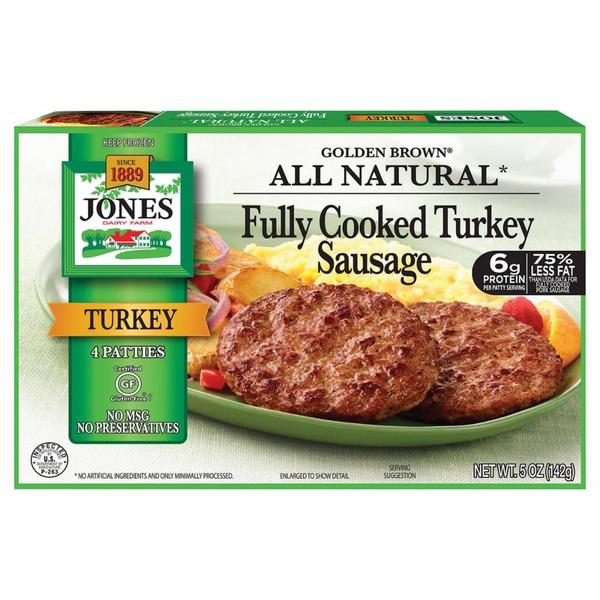 recipe: jones turkey sausage nutritional information [8]