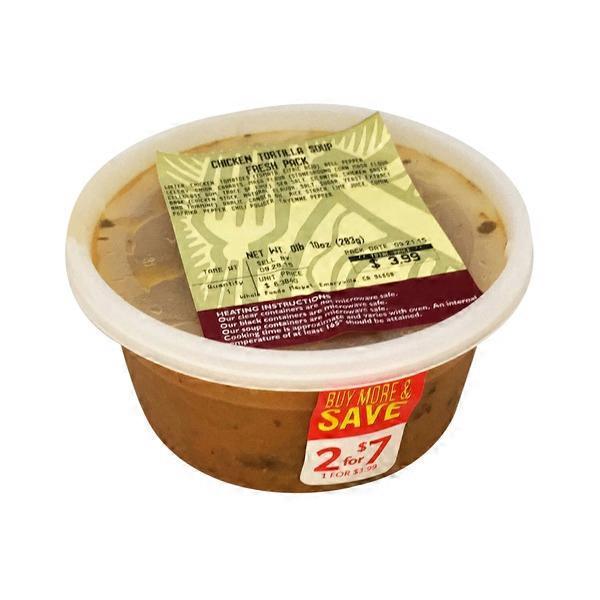 Del Monaco Foods Chicken Tortilla Soup 10 Oz From Whole Foods