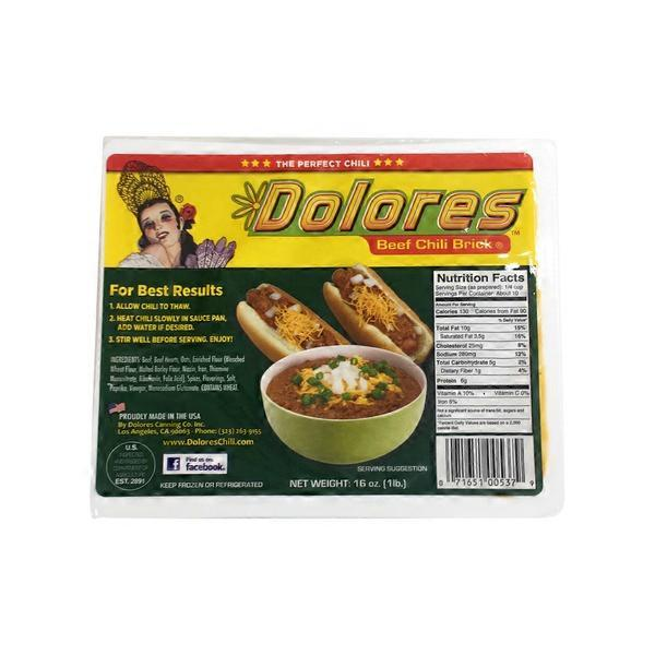 Dolores chili brick