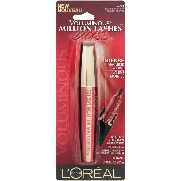 597334efae7 L'oreal Paris Voluminous Million Lashes Excess Mascara (0.31 fl oz ...