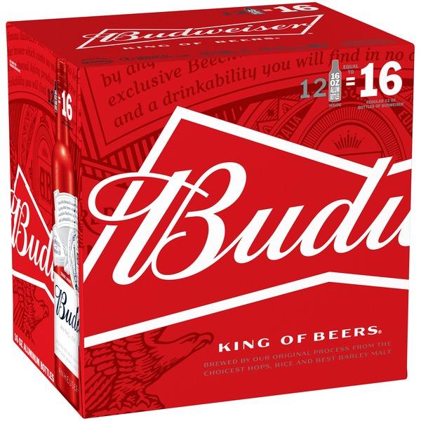 Budweiser Bud Light Aluminum Bottles (16 fl oz) from BevMo